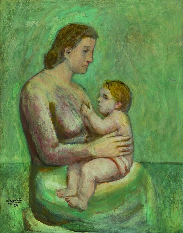 Carrà Maternità 1951